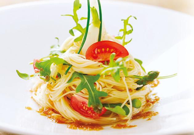 製 パスタ 冷 トマトとツナの冷製パスタ レシピ・作り方