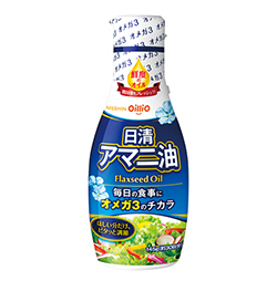 日清アマニ油