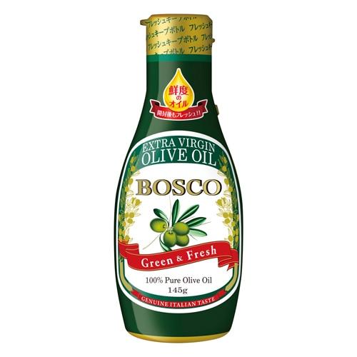 BOSCOエキストラバージンオリーブオイル 145g フレッシュキープボトル